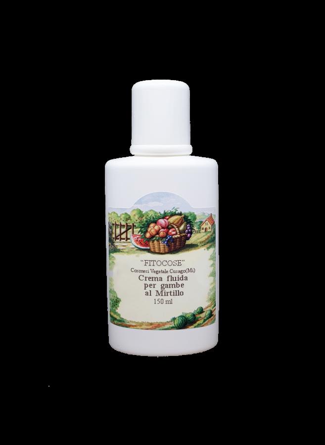 Crema fluida per gambe al Mirtillo - organic natural..